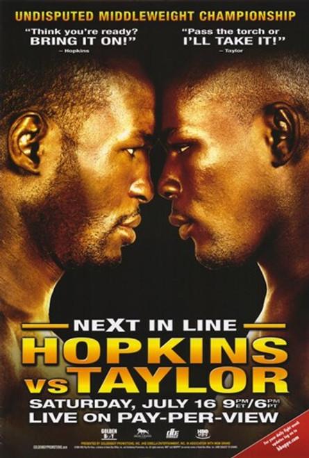 Bernard Hopkins vs. Jermain Taylor Movie Poster (11 x 17) - Item # MOV291288