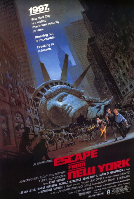 Escape from New York Movie Poster Print (27 x 40) - Item # MOVAD4689