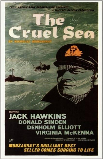 The Cruel Sea Movie Poster (11 x 17) - Item # MOV242357