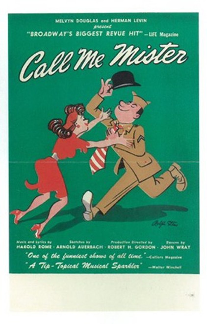 Call Me Mister (Broadway) Movie Poster (11 x 17) - Item # MOV407287