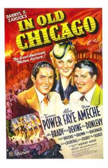 in Old Chicago Movie Poster (11 x 17) - Item # MOV143528