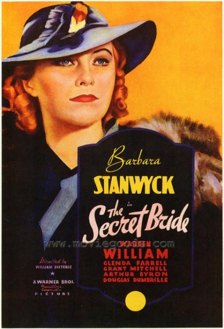 The Secret Bride Movie Poster Print (27 x 40) - Item # MOVIF0347