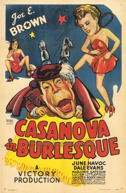Casanova in Burlesque Movie Poster Print (27 x 40) - Item # MOVCF0381