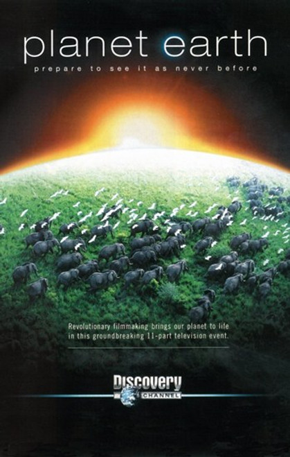 Planet Earth Movie Poster (11 x 17) - Item # MOV400300