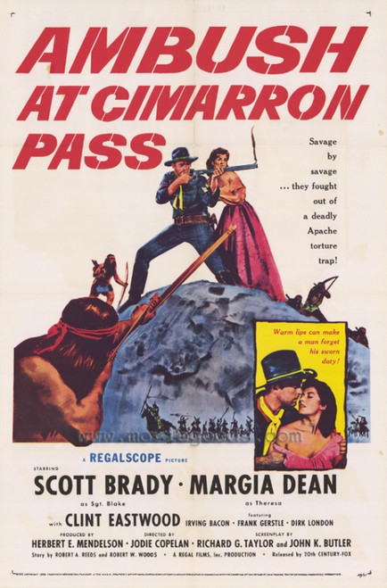 Ambush at Cimarron Pass Movie Poster Print (27 x 40) - Item # MOVEF3410