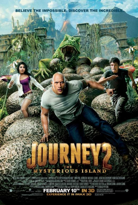 Journey 2: The Mysterious Island Movie Poster Print (27 x 40) - Item # MOVCB56594