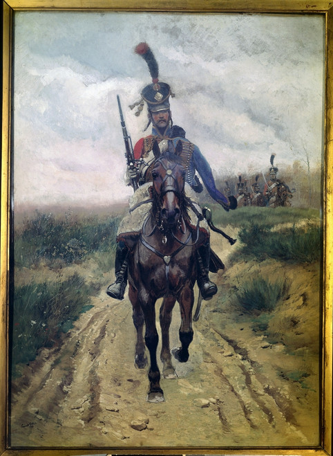 1750  Edouard Detaille French School Poster Print - Item # VAREVCCRLA001YF770H