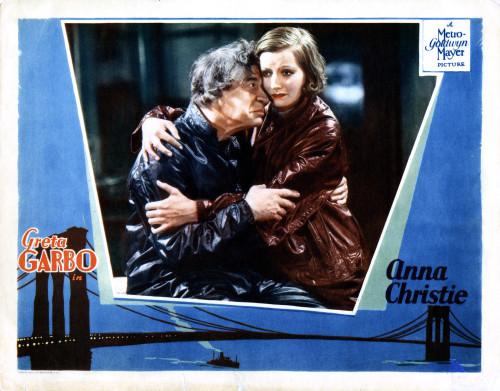 metro goldwyn mayer movie poster ANNA CHRISTIE greta garbo MOVIE STAR 24X36
