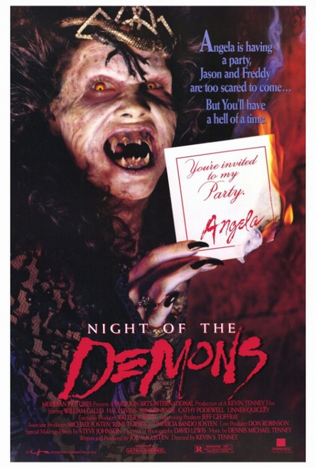 Night of the Demons Movie Poster Print (27 x 40) - Item # MOVIF7386