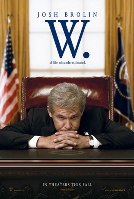 W. Movie Poster (11 x 17) - Item # MOV414046