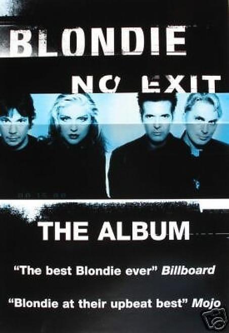 Blondie No Exit Poster - Item # RAR9999142
