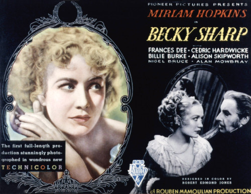 Becky Sharp Miriam Hopkins Cedric Hardwicke 1935 Movie Poster Masterprint - Item # VAREVCMSDBESHEC004H