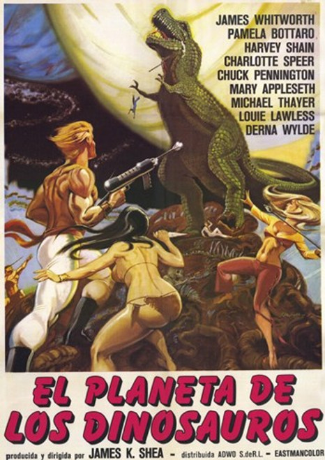 Planet of Dinosaurs Movie Poster (11 x 17) - Item # MOV228060