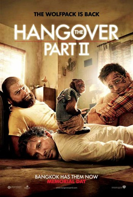 The Hangover 2 Movie Poster (11 x 17) - Item # MOVAB93783