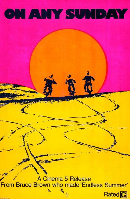 On Any Sunday Movie Poster Masterprint - Item # VAREVCM8DONANEC003