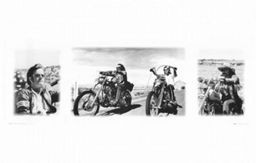 Easy Rider (triptych) Movie Poster (17 x 11) - Item # MOV298235