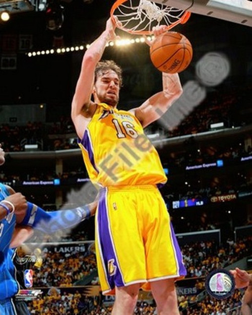 Pau Gasol Game One Of The 2009 NBA Finals