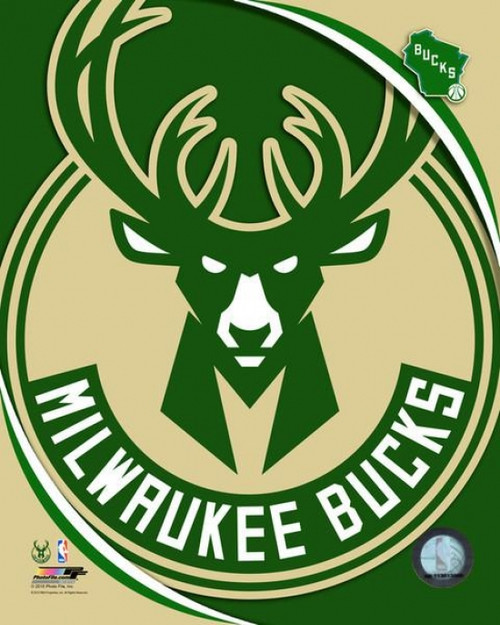 Milwaukee Bucks Team Logo Photo Print