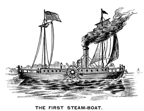 Robert Fulton'S Clermont. /Nrobert Fulton'S Steamboat