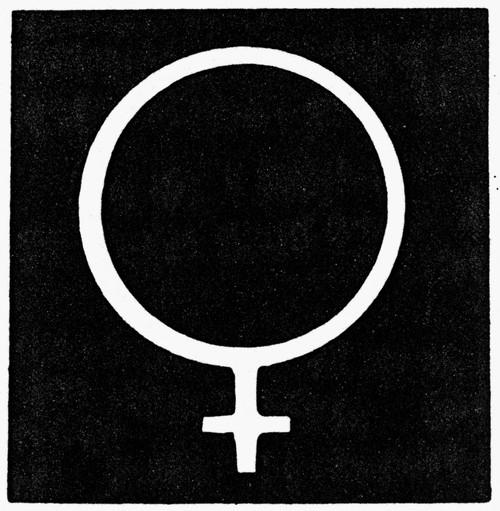 Symbol Of Venus. /Nastronomical Symbol For The Planet ...