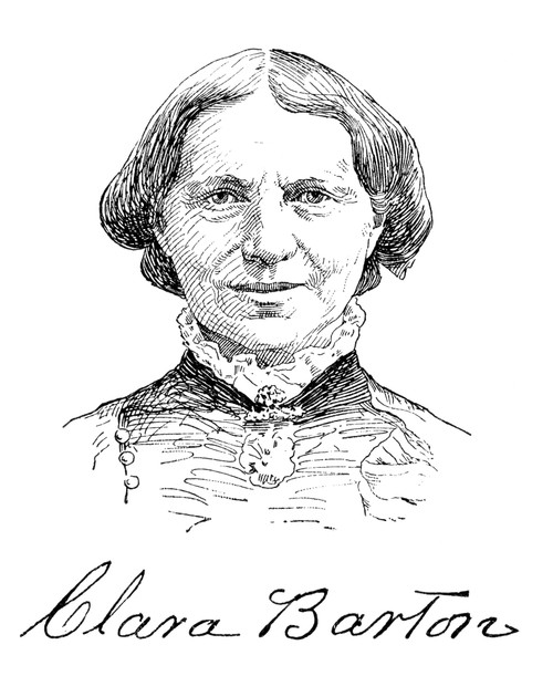 Clara Barton (1821-1912). /Nfounder Of The American Red
