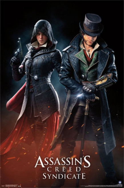 Assassins Creed Syndicate Evie And Jacob Poster Print Item