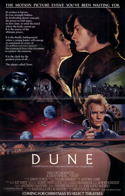 Dune Movie Poster 11 X 17 Item Movef9675 Posterazzi