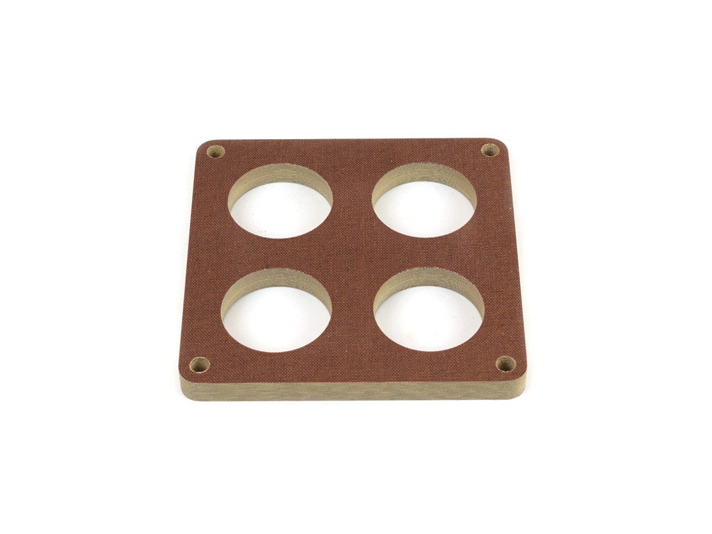 85-212 Phenolic Carburetor Spacer For 4500 Holley 4 Hole 1/2