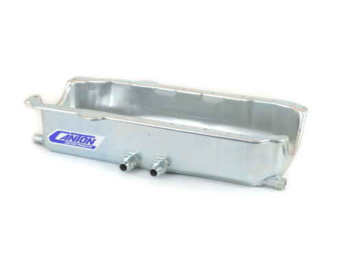 12-101 Small Block Chevy Pre-85 Shallow Dry Sump Right Hand Exits