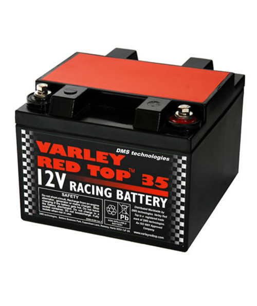 NEW Varley Red Top 30 Race /& Rally Battery 7065-0006