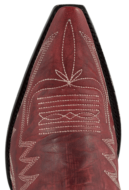 Old Gringo Women's Red Nevada Boots - Toe