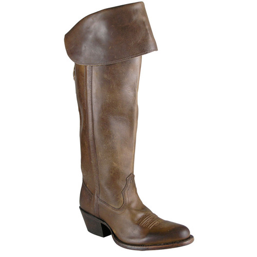 Charlie 1 Horse - Tall Calf Boot with Collar