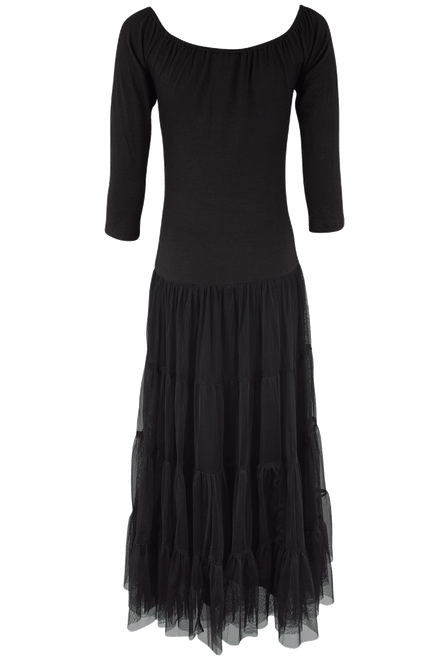 Vintage Collection Jewelry Dress - Black - Back
