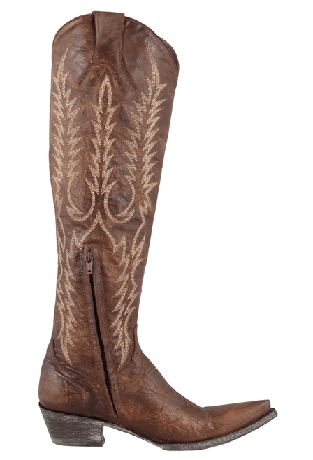 Old Gringo Women's Brown Mayra Boots - Side