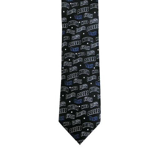 MMG Texas Cities Tie