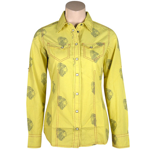 """""""The Chief"""" Snap-Button Shirt"""