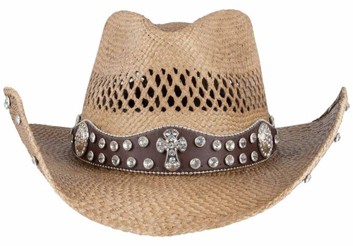 Bullhide More Than Words Straw Hat - Front