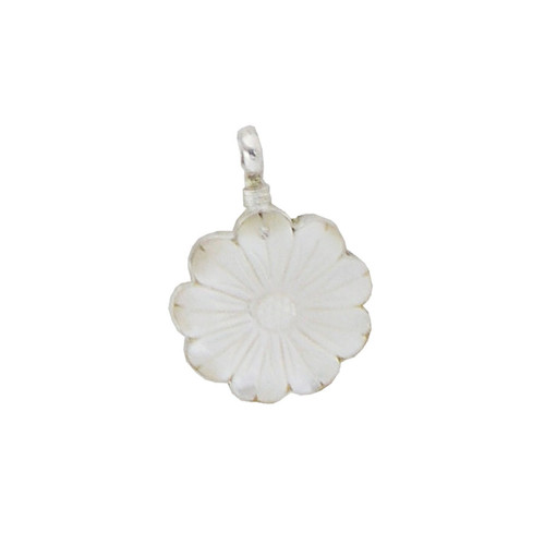 Charm - Small Mother of Pearl Flower
