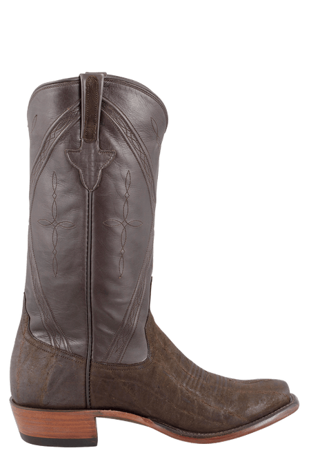 Rios of Mercedes Men's Chocolate Elephant Boots - Side