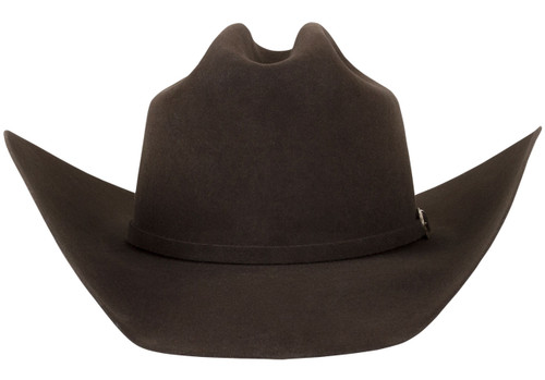 American Hat Co. 40X Felt Hat - Chocolate - Front