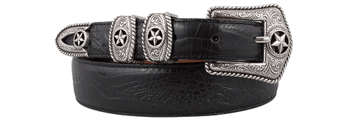Country Croc Belt - Black