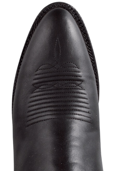Lucchese Women's Black Ranch Hand Boots - Toe