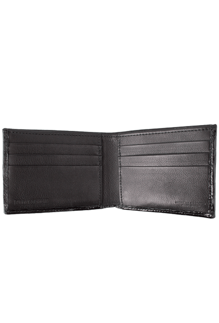 Alligator Classic Wallet - Black - Inside
