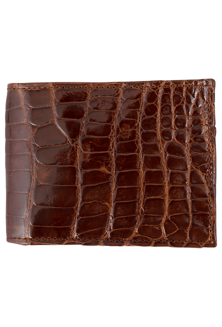 Alligator Classic Wallet - Cognac - Front