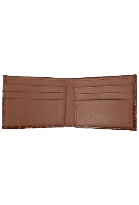 Alligator Classic Wallet - Cognac - Inside