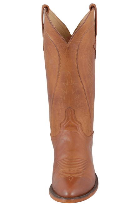 Lucchese Women's Cognac Ranch Hand Boots - Front