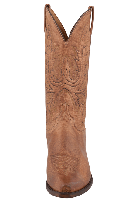Lucchese Women's Tan Mad Dog Boots - Front