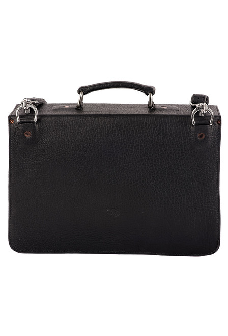 Pinto Ranch American Bison Briefcase - Back