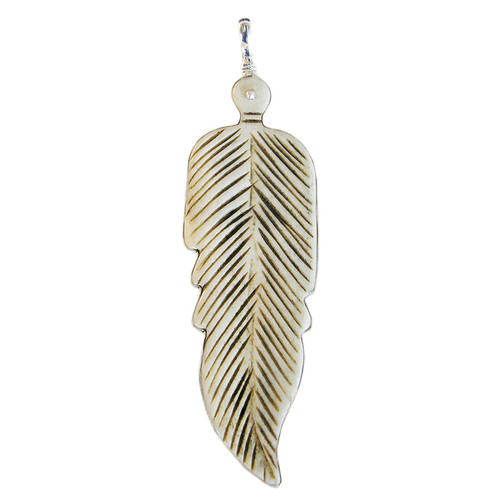 Charm - Large Feather Charm