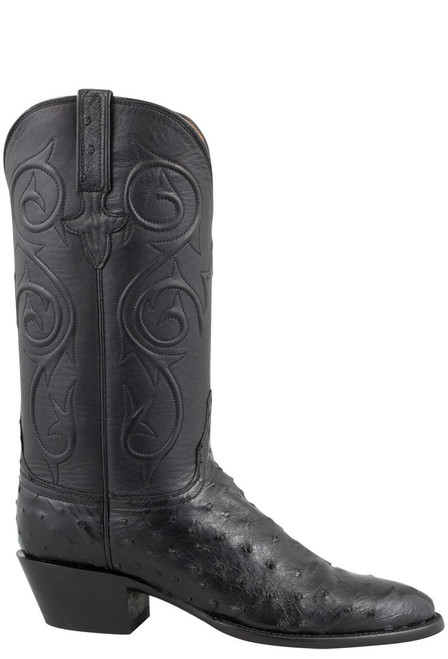 Full-Quill Ostrich Boots - Pinto Ranch
